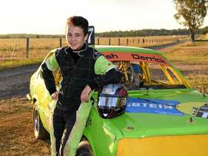NEED FOR SPEED: Bundy boy hooked on racing