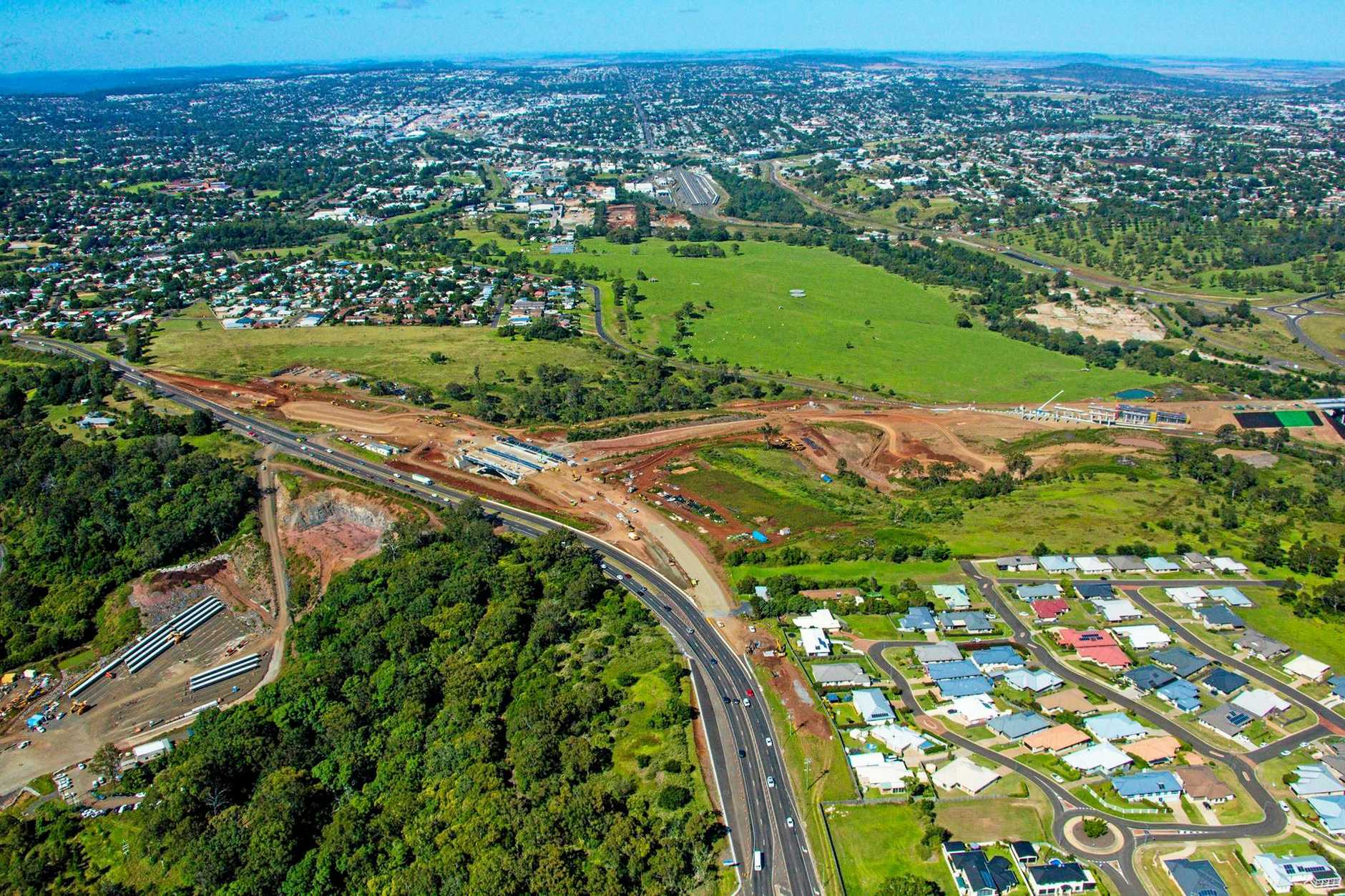 The Toowoomba Second Range Crossing is one of regional Queensland's biggest infrastructure projects.
