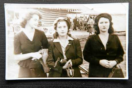 WHERE ARE THEY? Linda Watson's mother, Jean Elizabeth Wilson, died at age 45. Her friend (middle) was called Sylvia - the woman Linda is named after.