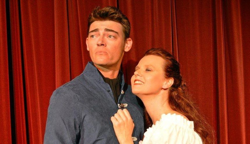STARS: Captain Corcoran (Dane Bodley) and Buttercup (Kristen Lodge).