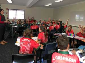 Leadership workshop inspires schoolkids