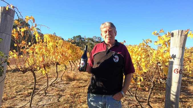 BUILDING PROFILE: Just Red Wines owner Tony Hassall is ready to visit the Regional Flavours festival in Brisbane in July.