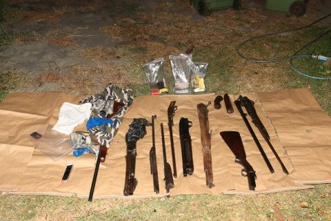 Warning as seized firearms linked to regional property crime