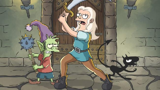 First look at Matt Groening's new show.