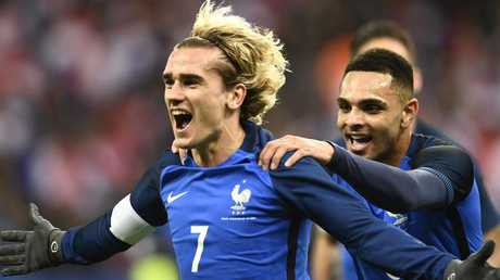 Antoine Griezmann is lethal in front of goal.