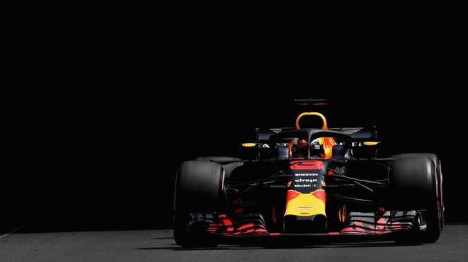 Daniel Ricciardo set the early pace in Practice 1 in Monaco.