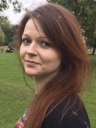 Yulia Skripal was poisoned after eating a meal at a British restaurant. Picture: AFP/Facebook