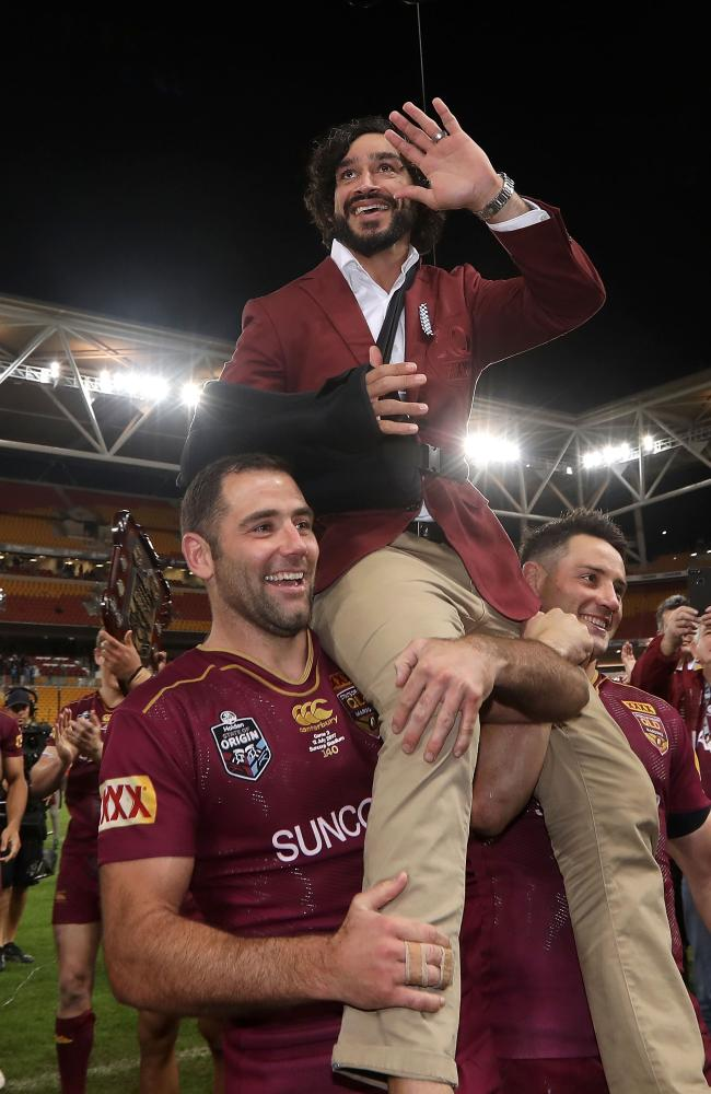 The loss of several Queensland greats could cause complacency in the Blues camp.