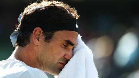 Roger Federer has a big fan in Serena Williams.