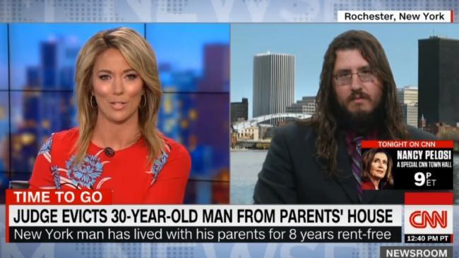 Michael Rotondo defended himself on CNN.