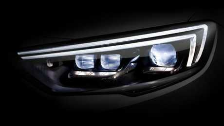 Photo of Holden Commodore matrix LED light