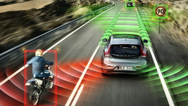 Volvo's Blind Sport Information system