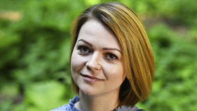 Yulia Skripal has spoken for the first time since she was poisoned in a nerve agent attack in March. Picture: Dylan Martinez via AP