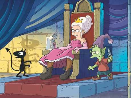 Netflix has revealed a first look at Disenchantment.