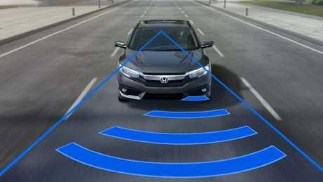 car safety tech illustrations