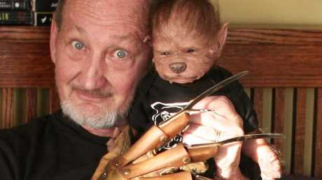 Robert Englund, who played Freddy Krueger in Nightmare on Elm Street, is a fan. Picture: Facebook