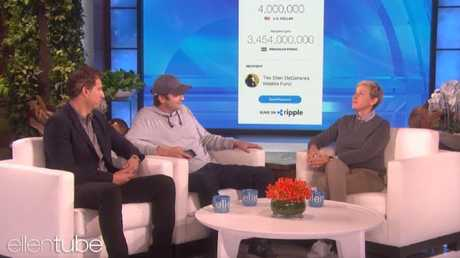 Ashton Kutcher's amazing gesture for Ellen.