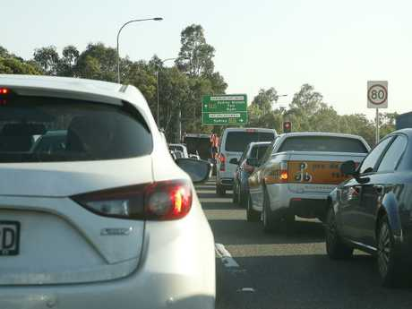 Congestion at Sydney Olympic Park.