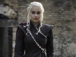 Emilia Clarke as Daenerys Targaryen in Game of Thrones. Picture: HBO