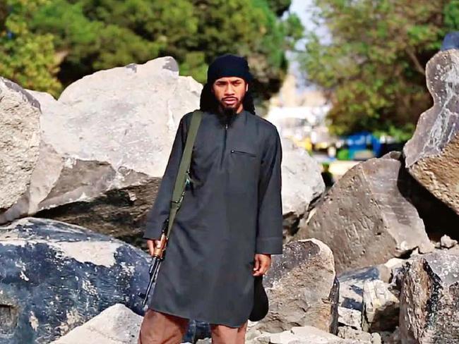 Neil Prakash in one of his ISIS propaganda videos.
