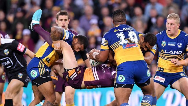 Parramatta fought hard but fell short in Brisbane.