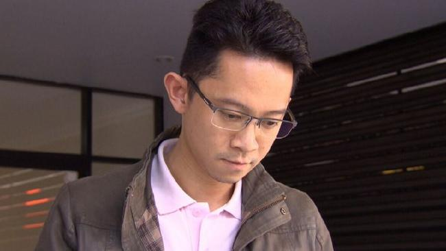 Mr Tjin told A Current Affair that what he did was 'wrong'. Picture: Channel 9