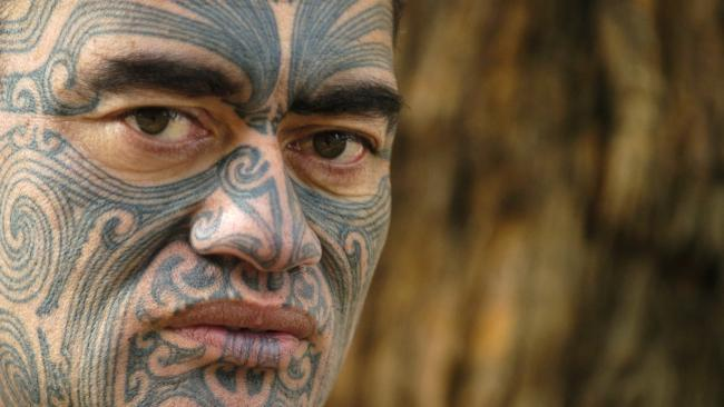 Facial tattoos in Maori culture are 'particularly sacred'.