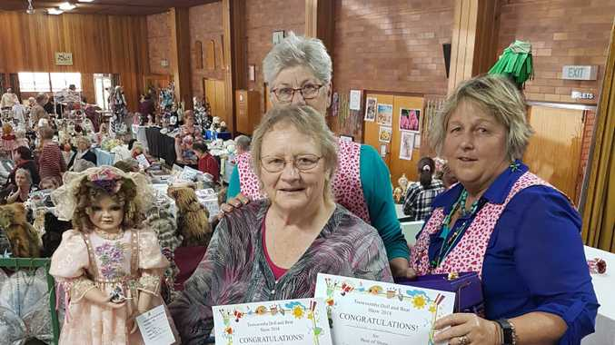 Toowoomba Dolls, Bear and Winter Craft Show going strong