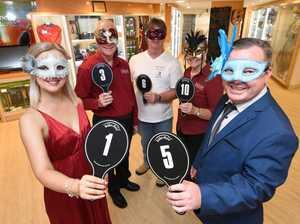 Bayside Transformation Masquerade Ball at the Hervey