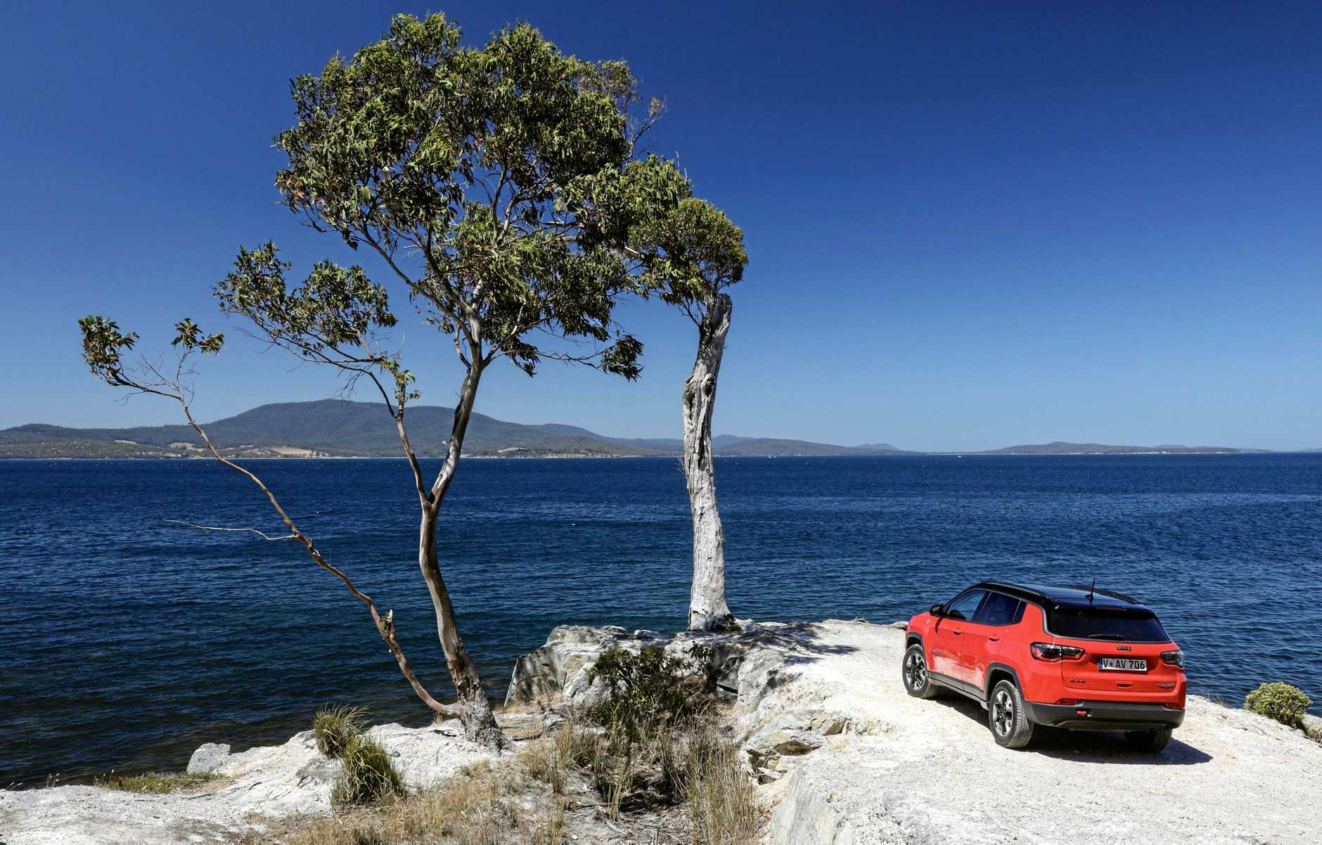 The range-topping Jeep Compass Trailhawk.