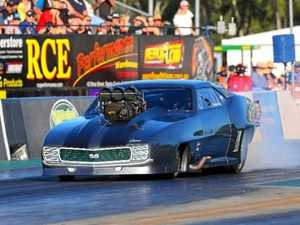 New Winternats challenge for daring drag racer