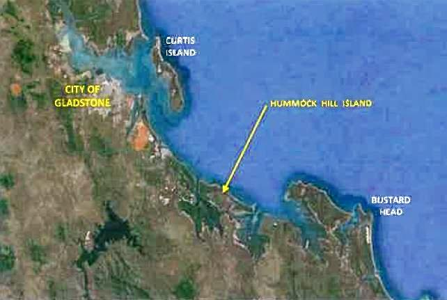 PARADISE: Hummock Hill Island is located about an hours drive south of Gladstone.
