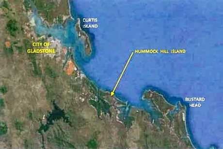 CITY'S DOORSTEP: Hummock Hill Island is located about 30km south of Gladstone.