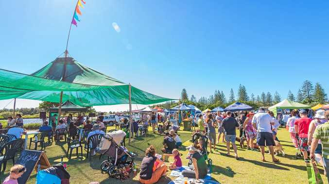 FREE ENTERTAINMENT: The Yamba River Markets will again be run by Live Prawn Productions.