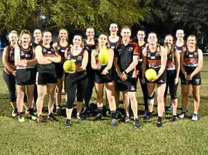 Sophie is aiming high in the world of Aussie Rules