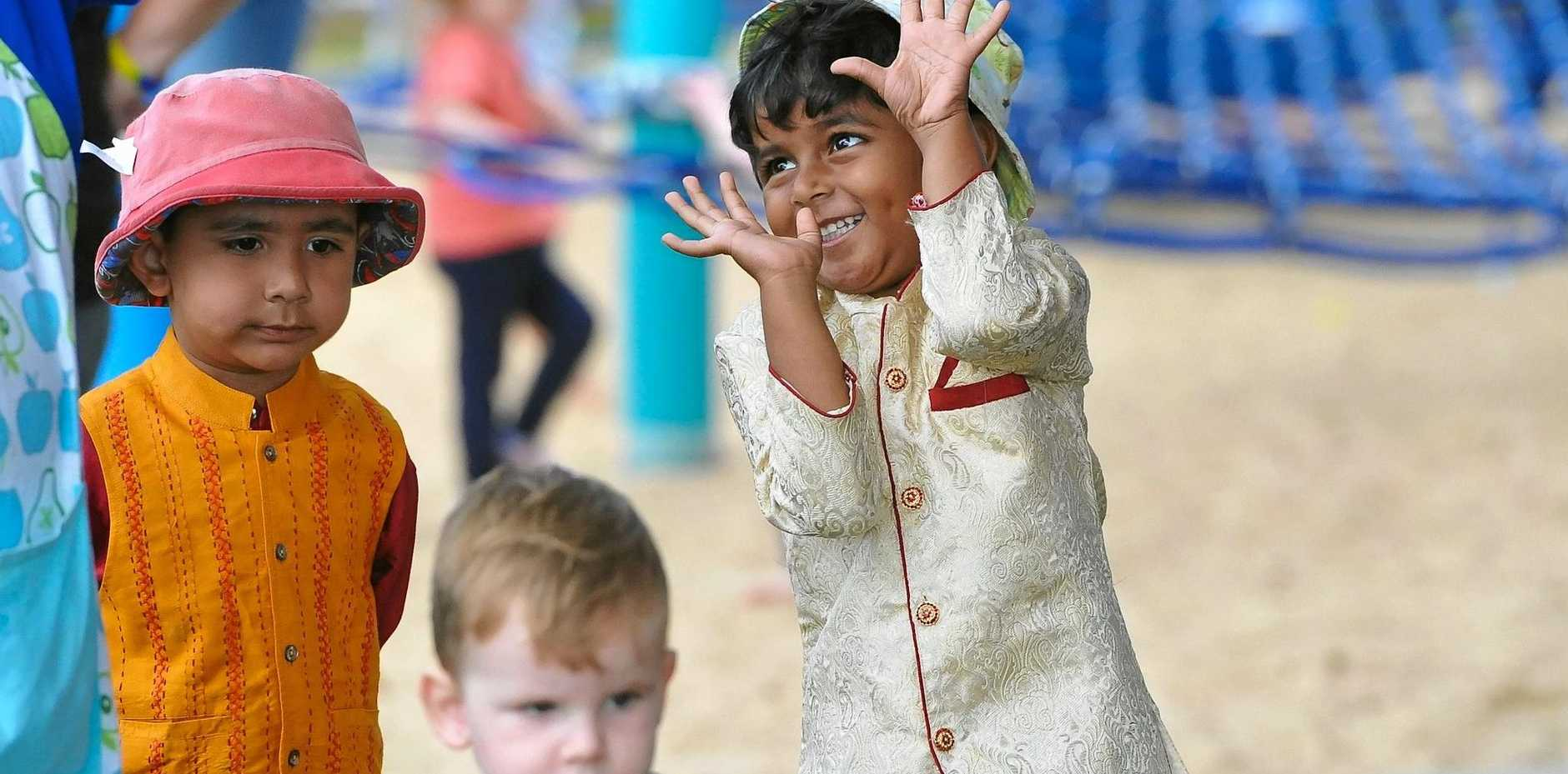 FAMILY FUN: Children enjoyed story-telling, henna painting, dancing and tasty snacks at the playgroup.