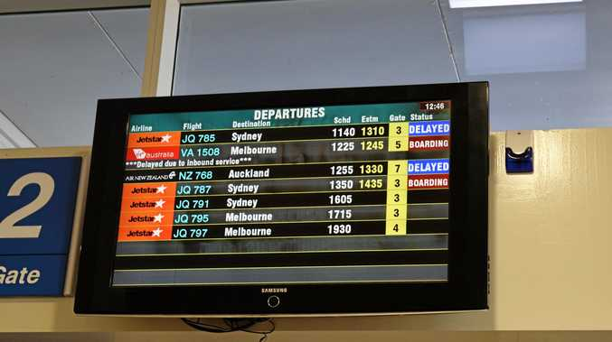 Sunshine Coast Airport has been ranked as Australia's worst for flight delays.