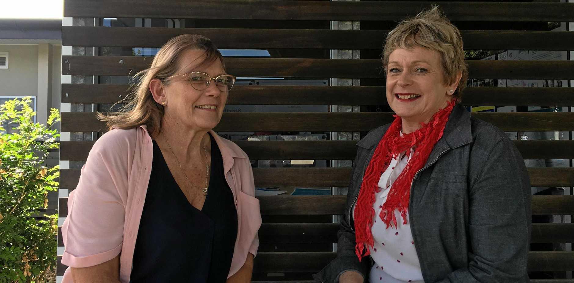 Vicki Blackburn and Dr Anne Butcher