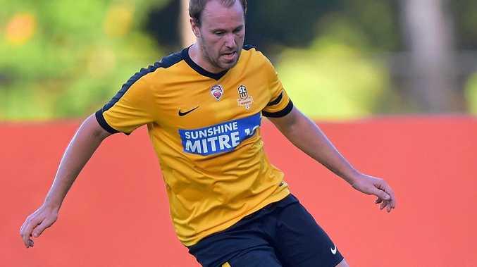 Sunshine Coast Wanderers midfielder Michael Scarff