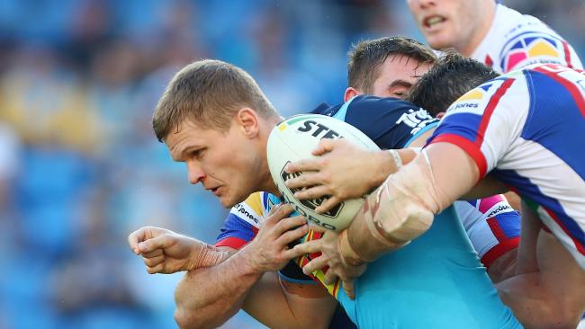 Dale Copley would like to re-sign with the Titans and stay on the Gold Coast. Photo: Getty Images