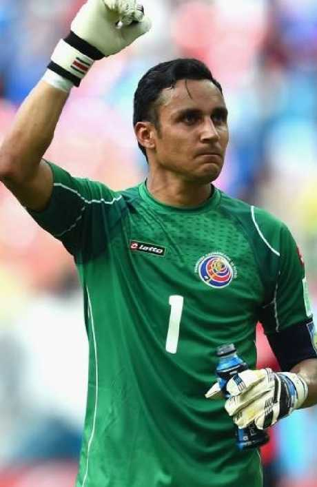 Keylor Navas was a revelation for Costa Rica in 2014.