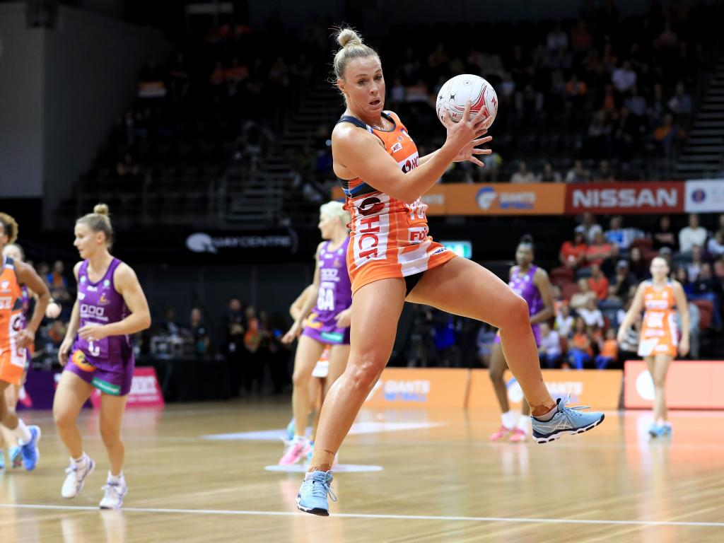 Kim Green works hard in attack and defence. Pic: Getty Images