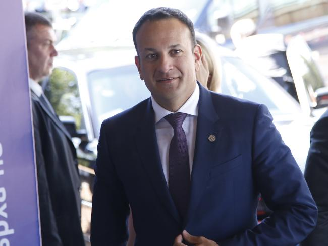 Irish Prime Minister Leo Varadkar is a supporter of the 'Yes' vote.