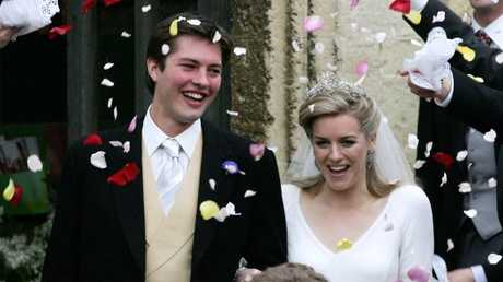 The couple wed in Lacock, England, in 2006.