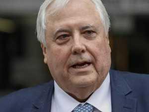 Clive Palmer's assets frozen