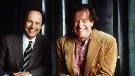 Billy Crystal and Robin Williams in 1997 film Father's Day.