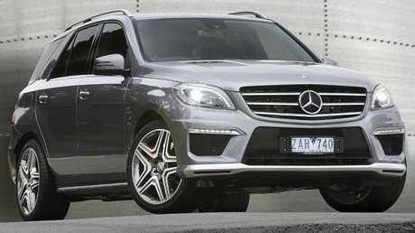 "Mercedes ML63: ""Basically the tow-car"" for the massively powered ute"