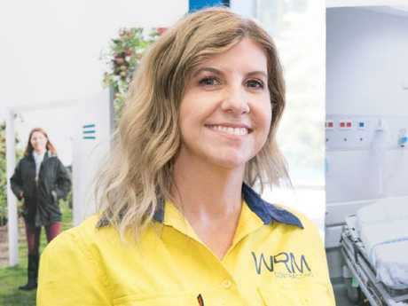 Rebecca Muir made the change from female-dominated work into an apprenticeship 16 years ago. Picture: Supplied