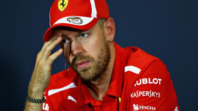 Sebastian Vettel is confident his team has done nothing wrong.