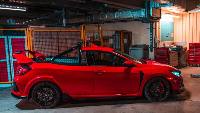 Honda Civic Type R Pickup concept